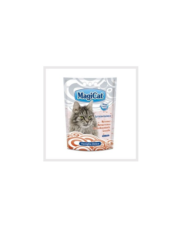 Magicat Lettiera In Gel Di Silicio Vaniglia 5L