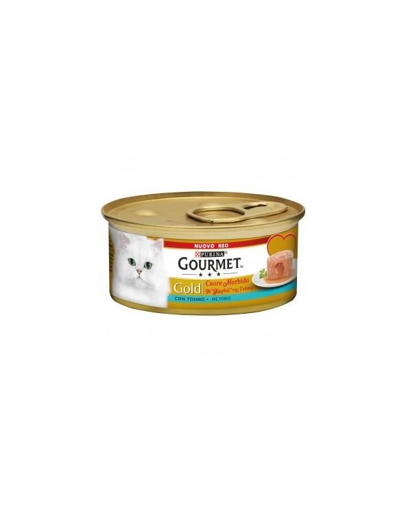 Gourmet Gold Cuore Morbido Tonno 85 g