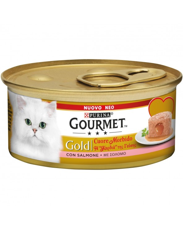 Gourmet Gold Cuore Morbido Salmone 85g
