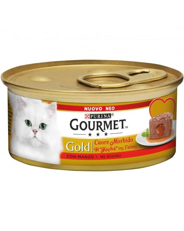 Gourmet Gold Cuore Morbido Manzo