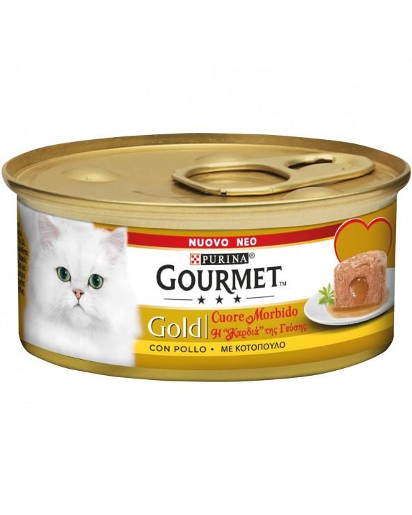 Gourmet Gold Cuore Morbido Pollo 85 g