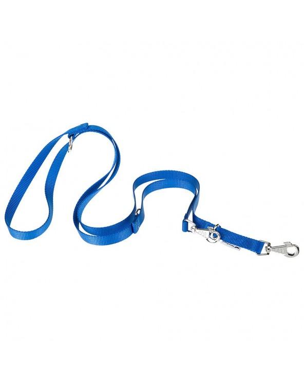 Ferplast Guinzaglio d'Addestramento Regolabile In Nylon Blu