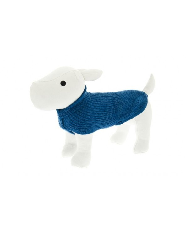Ferribiella Coats Maglione Dolcevita Blu