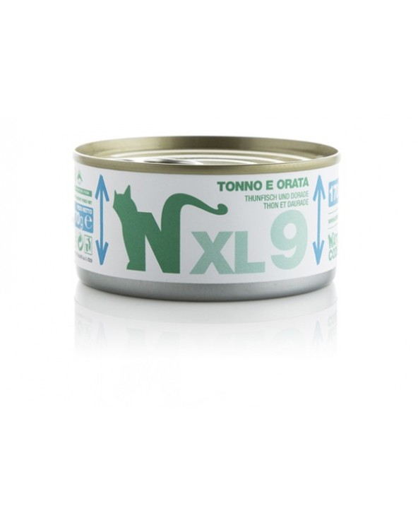 Natural Code Cat XL 09 Tonno e Orata 170 g