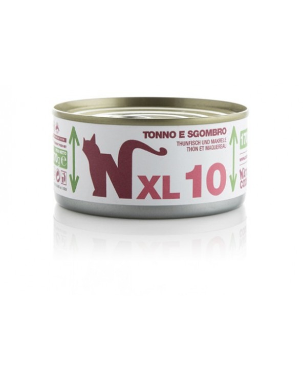 Natural Code Cat XL 10 Tonno e Sgombro 170 g