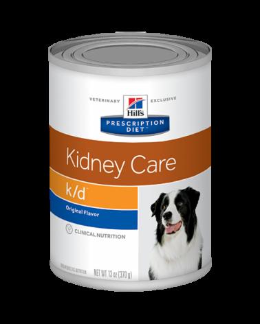 Hill's Canine Prescription Diet K/D Lattina in Patè 370 g