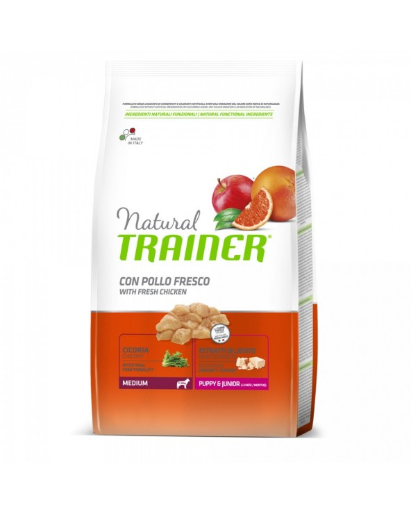 Natural Trainer Puppy & Junior Medium 650 g