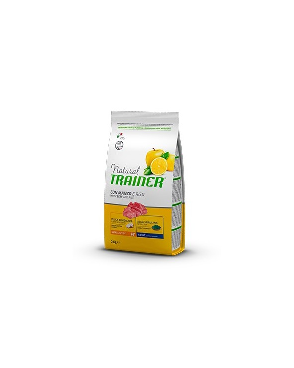 Natural Trainer Adult Mini con Manzo, Riso e Ginseng 800g