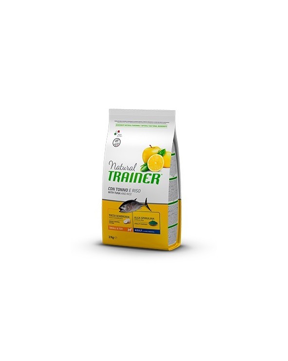 Natural Trainer Adult Mini con Tonno, Riso e Alga Spirulina 2kg