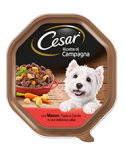 Cesar Ricette di Campagna con Manzo e Pasta Integrale in una Deliziosa Salsa