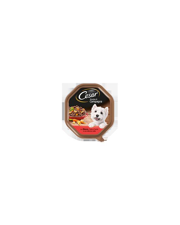 Cesar Ricette di Campagna con Manzo e Pasta Integrale in una Deliziosa Salsa 150g