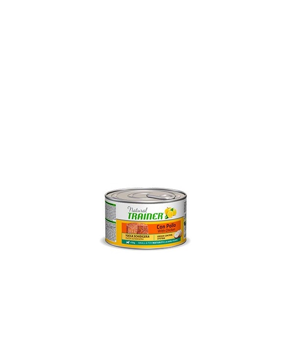 Natural Trainer Maturity 8+ Mini Con Pollo Umido 150g
