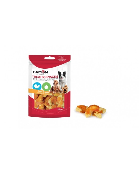 Camon Treats & Snack Bastoncini con Pollo e Mela