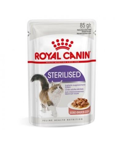 Royal Canin Feline Health Nutrition Sterilised Bocconcini in Salsa 85 g