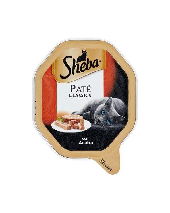 Sheba Patè Classic con Anatra Vaschetta 85 g