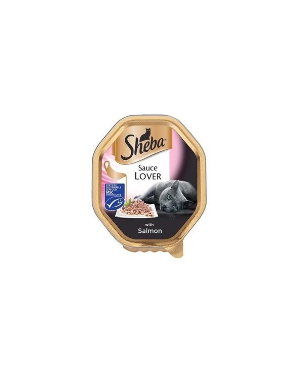 Sheba Sauce Lover Trancetti Con Salmone Vaschetta 85g
