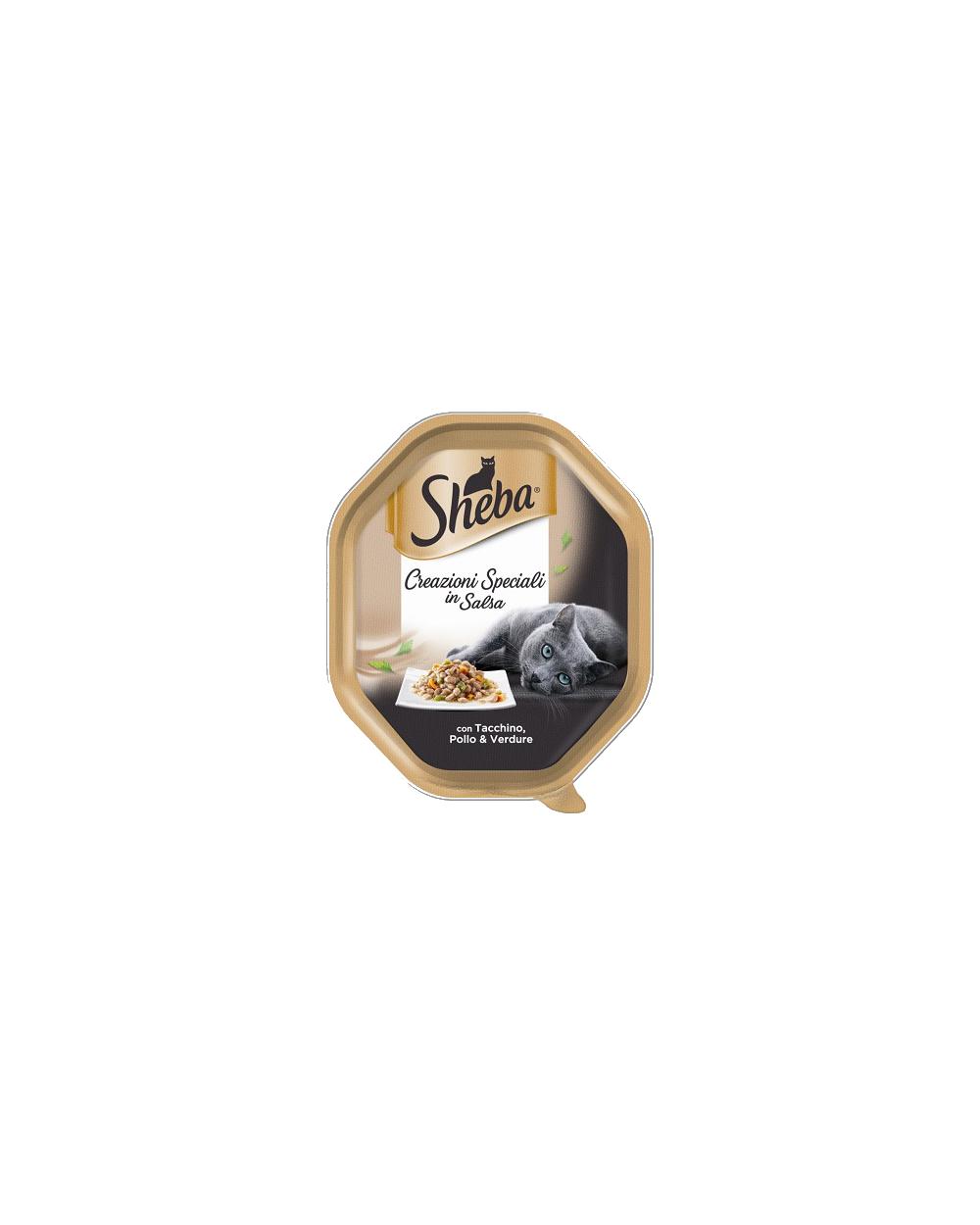 Sheba Creazioni Speciali con Pollo e Tacchino