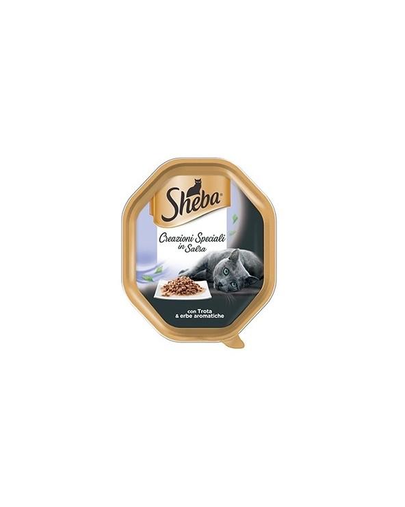 Sheba Creazioni Speciali con Trota ed Erbe Aromatiche Vaschetta 85 g