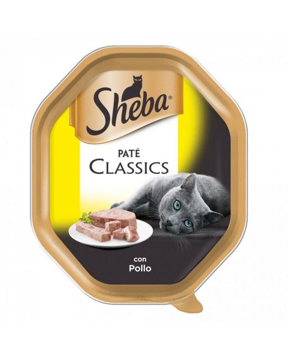 Sheba Patè Classic con Pollo Vaschetta 85 g
