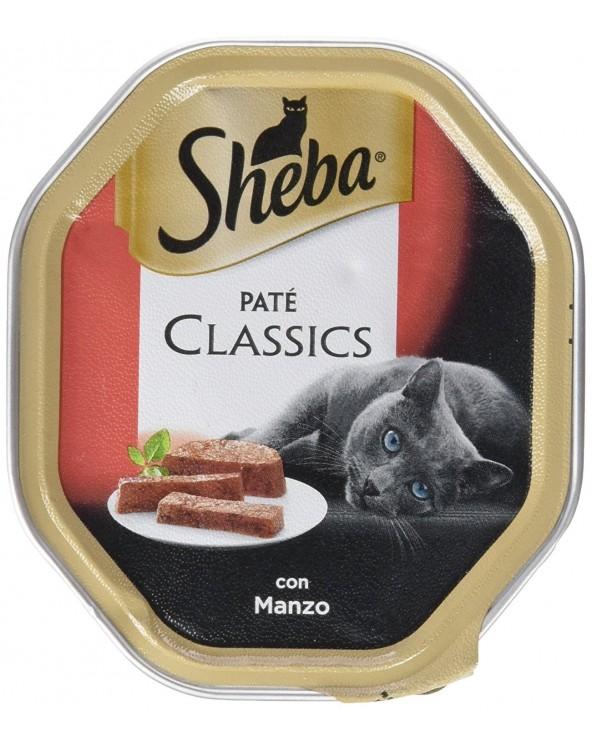 Sheba Patè Classic con Manzo Vaschetta 85 g