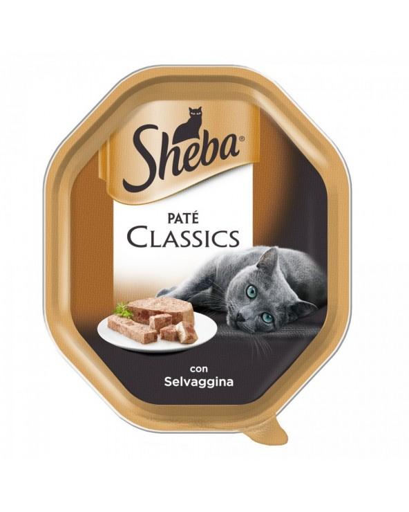 Sheba Patè Classic con Selvaggina Vaschetta 85g