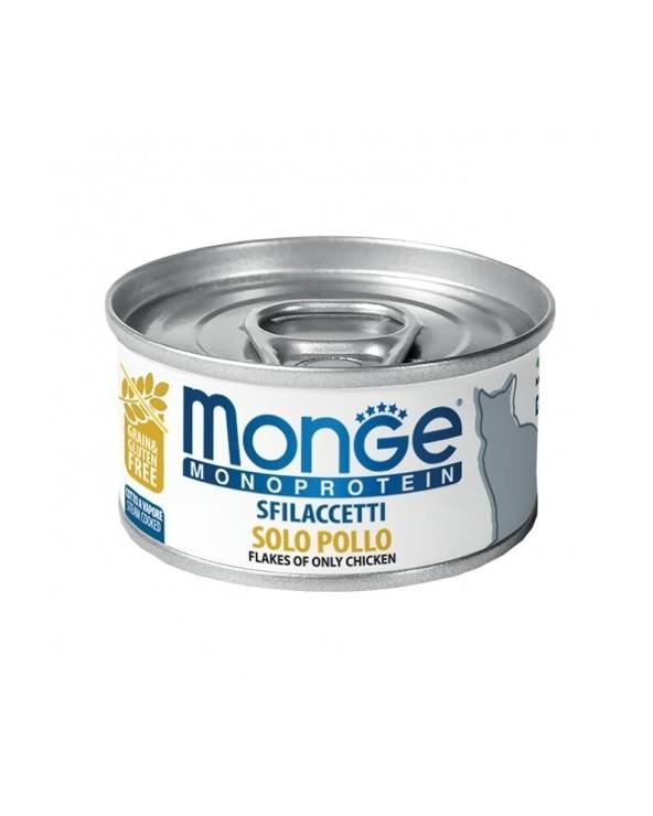 Monge Cat Sfilaccetti Monoprotein SOLO Pollo