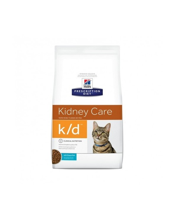 Hill's Feline Prescription Diet K/D Secco con Tonno 1.5 kg