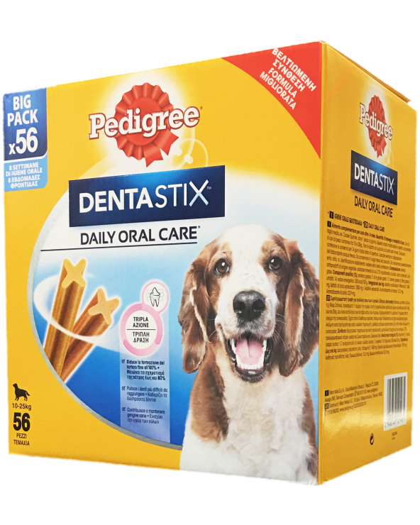 Pedigree Dentastix Multipack Medium 56 Pz