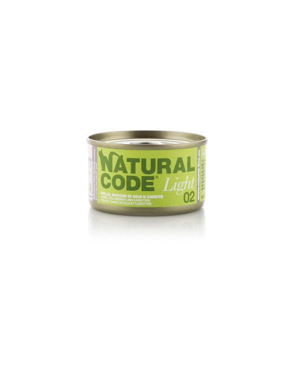 Natural Code Cat Light 01 Pollo Bacche di Goji e Carote
