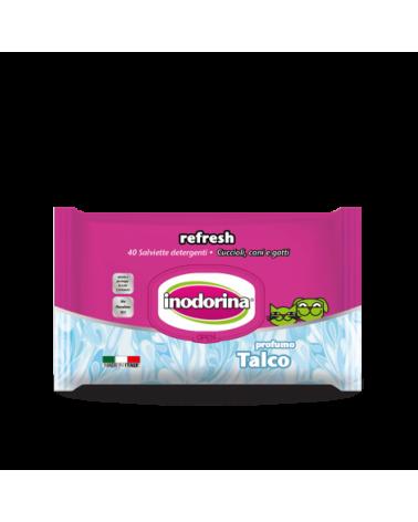 Inodorina Salviette Refresh Talco