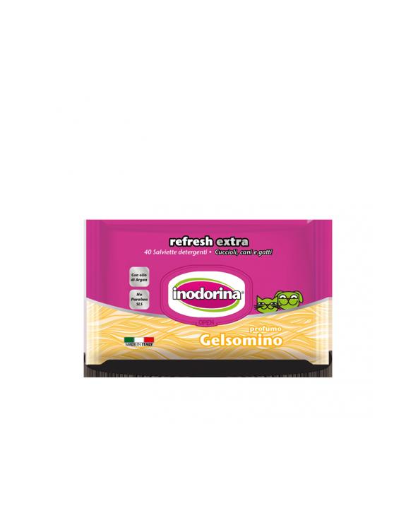 Inodorina Salviette Refresh Extra Gelsomino 40 pz