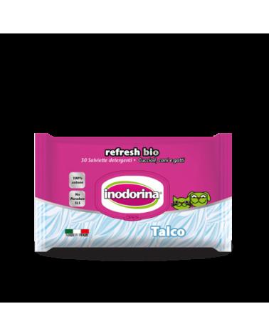 Inodorina Salviette Refresh Bio Talco