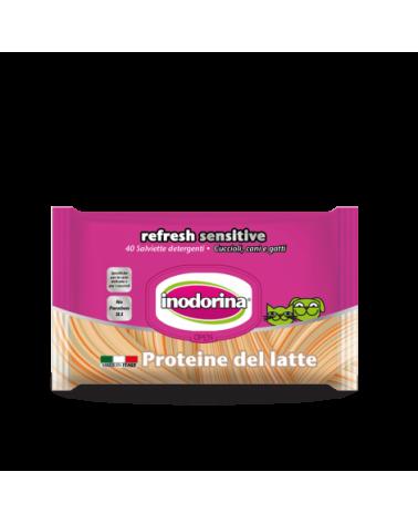 Inodorina Salviette Refresh Sensitive Proteine del Latte