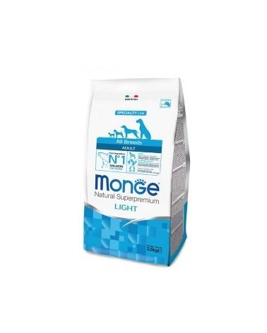 Monge All Breeds Adult Light Salmone e Riso