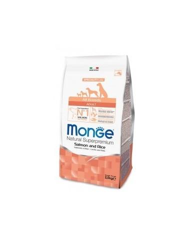 Monge All Breeds Adult Salmone e Riso