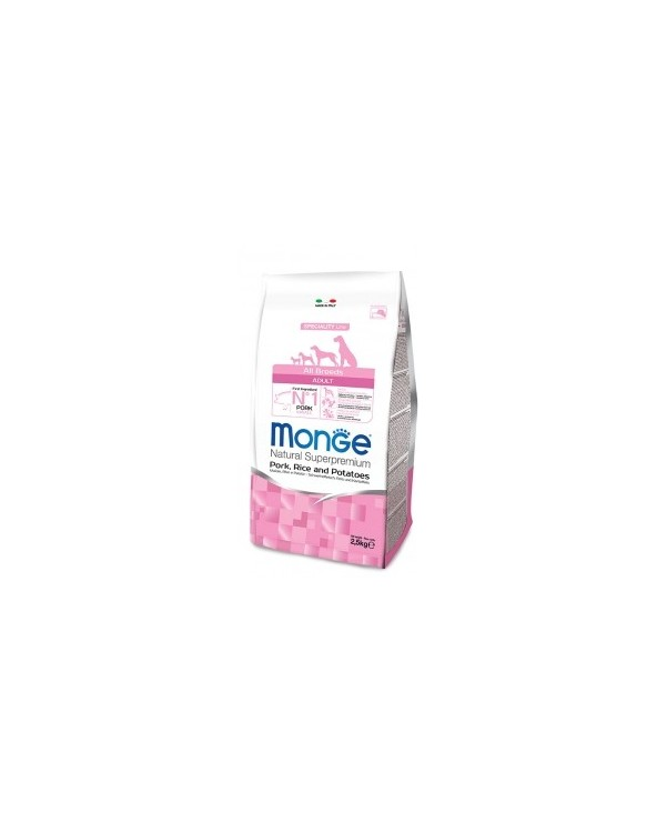 Monge All Breeds Adult Maiale, Riso e Patate