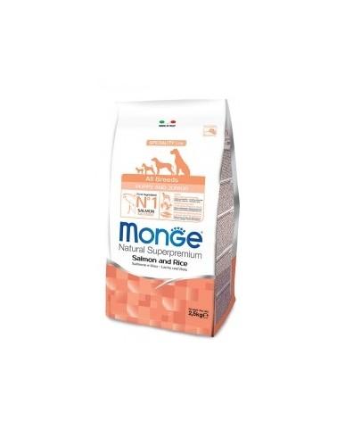 Monge All Breeds Puppy & Junior Salmone e Riso