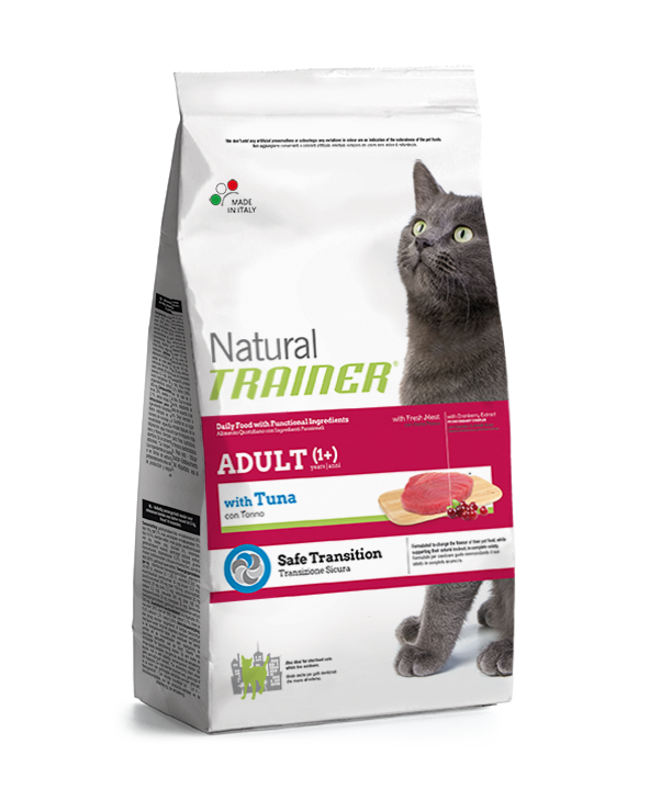 Natural Trainer Cat Adult con Tonno 3 kg