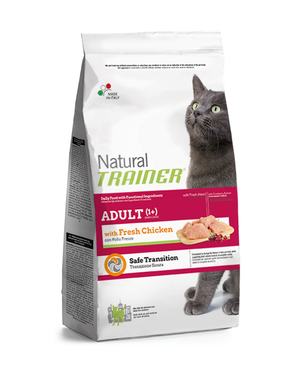 Natural Trainer Cat Adult al Pollo Fresco 12,5kg