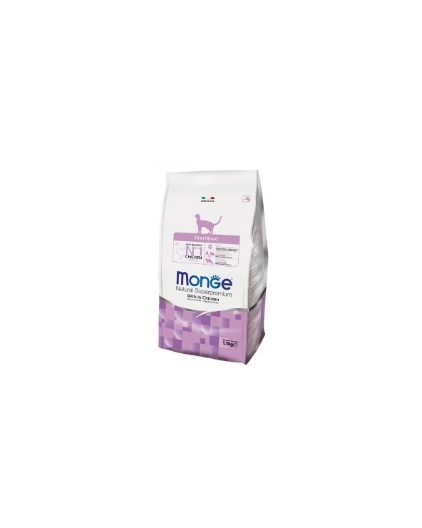 Monge Cat Sterilised Ricco di Pollo 10 kg