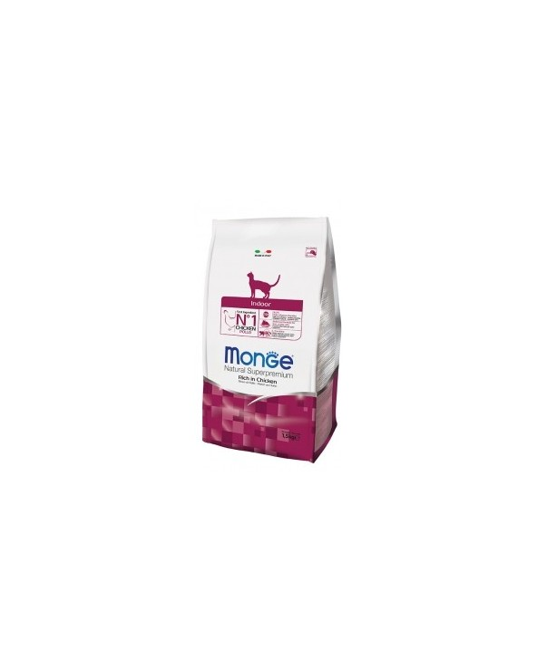 Monge Cat Indoor Ricco di Pollo 1.5kg