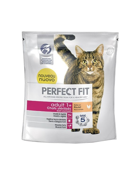 Perfect Fit Gatti Sterilizzati Adult 1+ Pollo 750 g