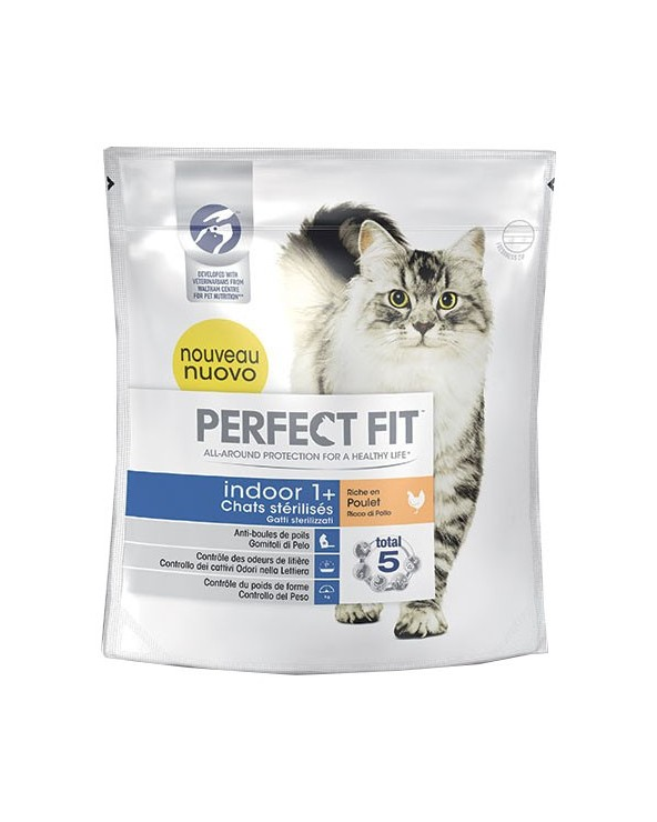 Perfect Fit Gatti Sterilizzati Indoor 1+ Pollo 750gr
