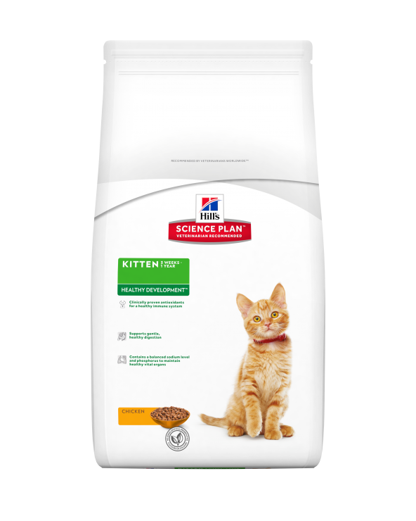 Hill's Feline Science Plan Healty Development Kitten con Pollo 2 kg