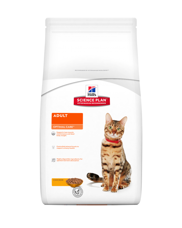 Hill's Feline Science Plan Optimal Care Adult con Pollo 2 kg
