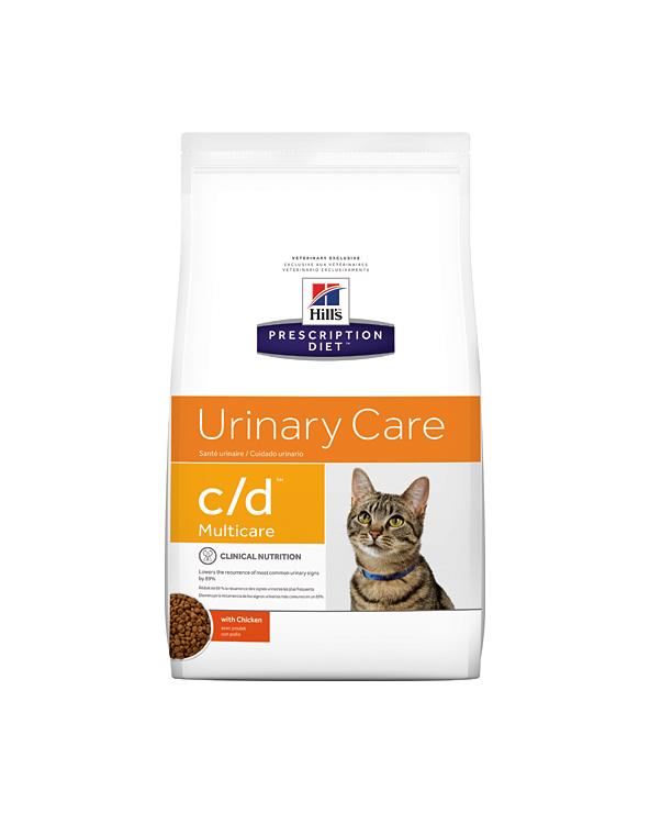 Hill's Feline Prescription Diet C/D con Pollo Secco 1.5 kg