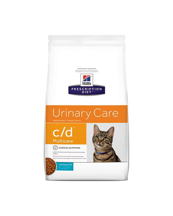 Hill's Feline Prescription Diet C/D con Pesce Oceanico Secco 5 kg