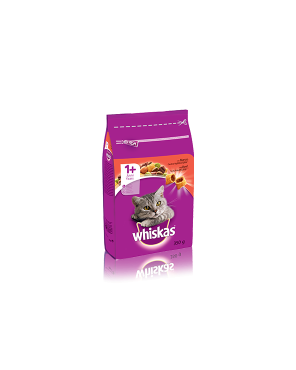 Whiskas Adult 1+ Croccantini Ripieni Con Manzo 1.4 kg