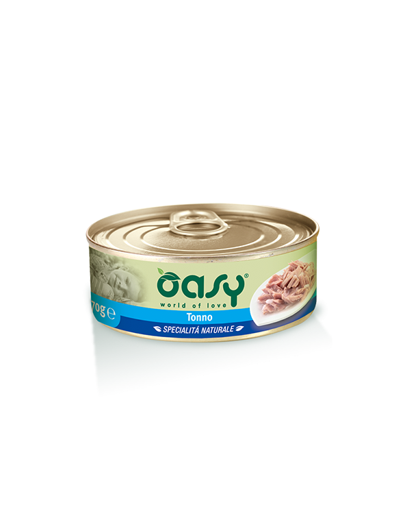 Oasy Cat Specialità Naturali Tonno Lattina 150g
