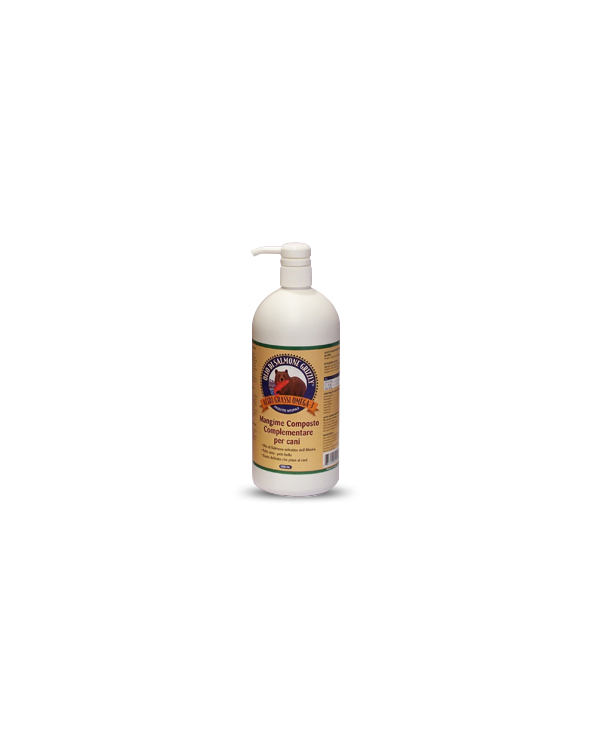 Olio Di Salmone Grizzly 500ml